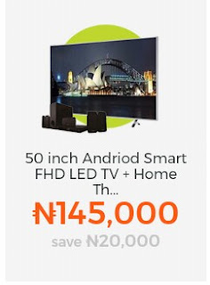Sony 50 inch Android Smart FHD LED TV + Home Theater