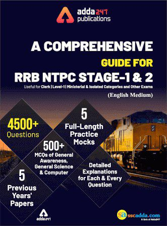 A Comprehensive Guide for RRB NTPC Stage 1 & 2 e-Book PDF download