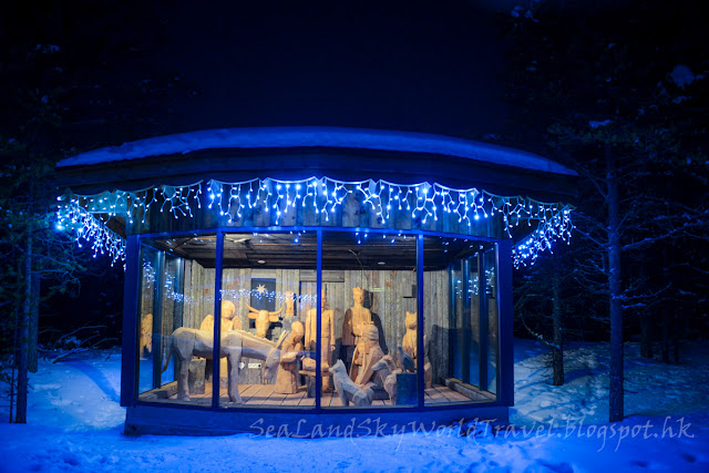 Saariselka kakslauttanen hotel Santa' Resort, 薩利色爾卡圓頂玻璃屋酒店