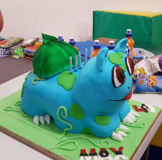 Pokemon Cake Bulbasaur