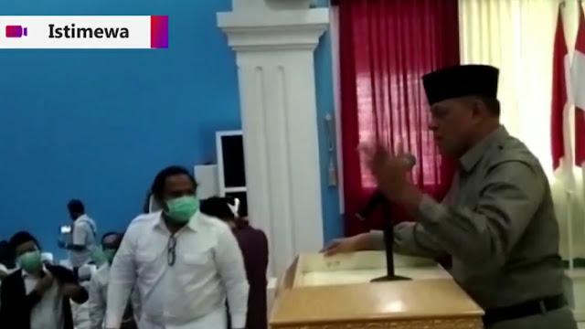 Video Detik-detik Pidato Jenderal Gatot di Surabaya Disetop dan Dibubarkan Polisi