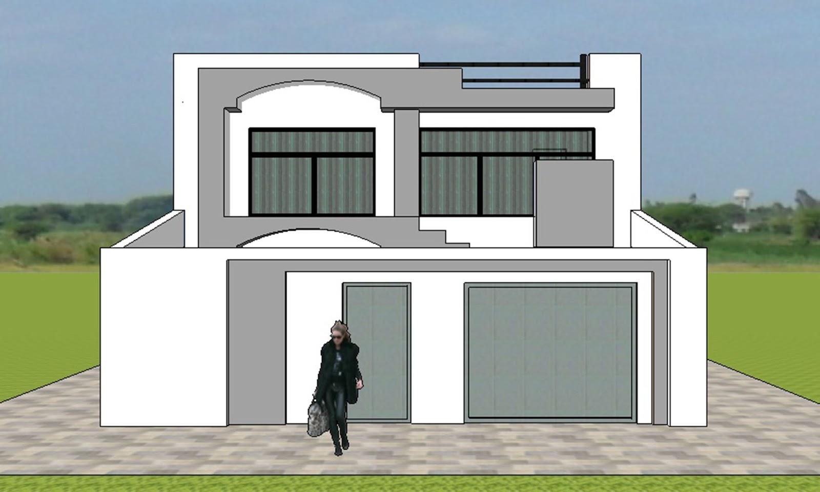 Fachadas y casas magn ficas fachadas para casas sencillas - Fachadas para terrazas ...