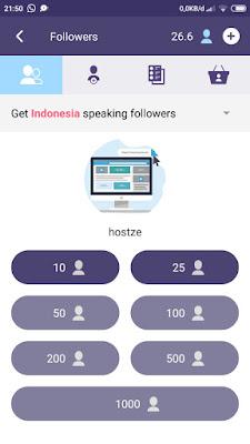 Cara Menambah 3600 Followers Instagram dari Indonesia Gratis dalam Sehari (1000% Works) - hostze.net