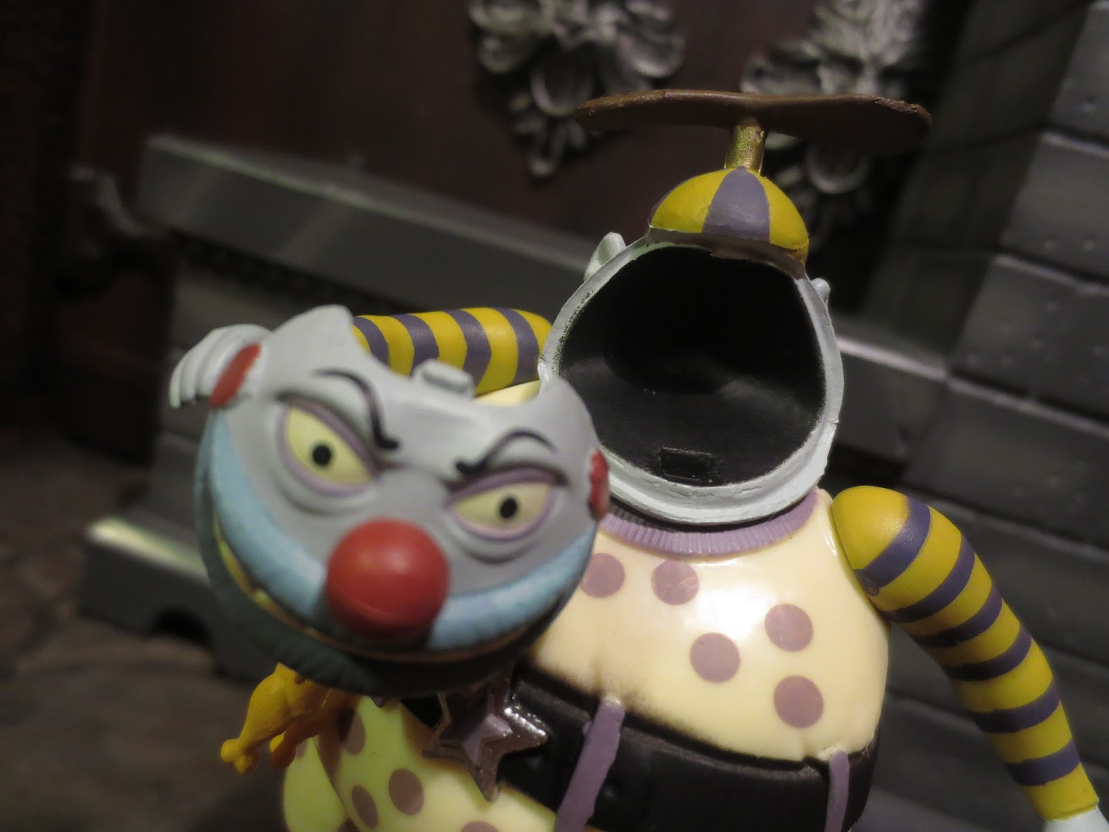 Nightmare Before Christmas Clown With A Tear Away Face.Action Figure Barbecue My Top 10 Toylines Of 2016