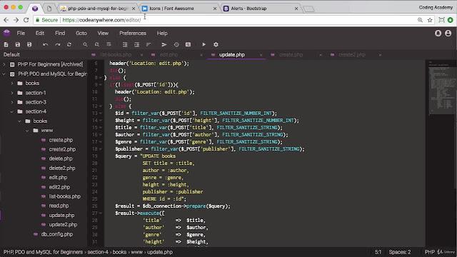 PHP for Beginners 2019 Part 2: PDO, MySQL, phpMyAdmin