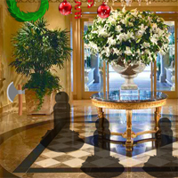BEG Christmas Cake Hotel Escape