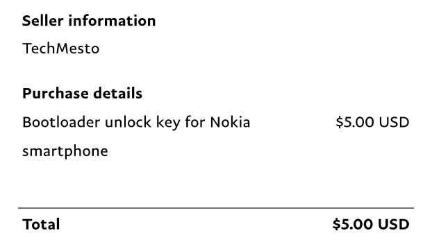 Nokia7のブートローダーアンロックをしてみた - がじぇったほりっく
