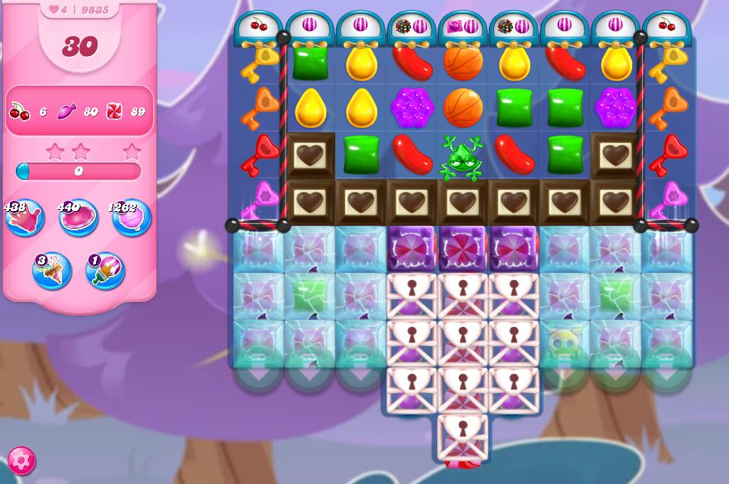 Candy Crush Saga level 9835