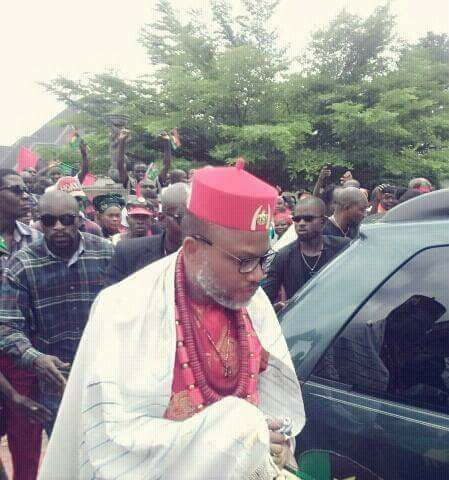 Breaking Nnamdi Kanu and Father Missing!