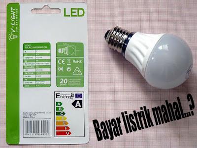 Lampu hemat energi bikin listrik irit, silahkan di coba!