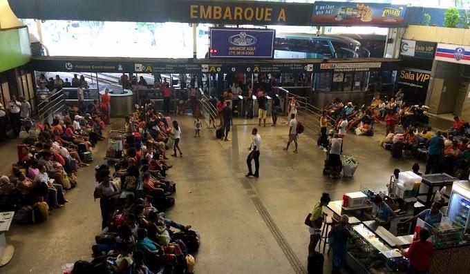 Rodoviária de Salvador tem 500 horários extras durante o carnaval; 100 mil devem deixar a capital