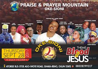 Top Gospel Artistes March To Ori-Oke Sioni Ishara-Remo Ogun State