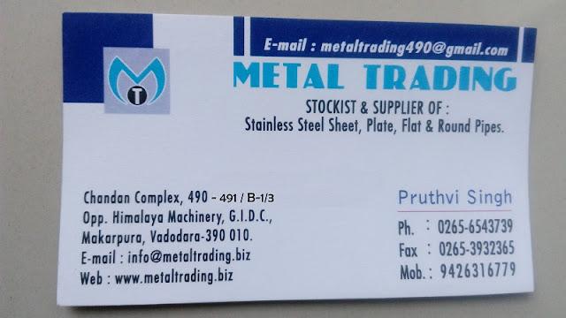 METAL TRADING - 9426316779