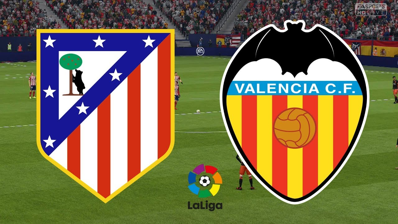 Hasil Pertandingan Atletico Madrid Vs Valencia