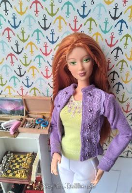 Barbie doll Secret Spells Kayla