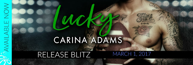 Lucky By Carina Adams
