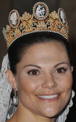 cameo tiara empress josephine france sweden crown princess victoria