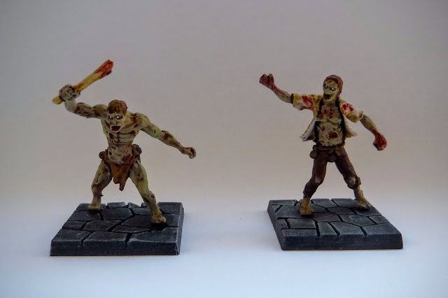 Dungeon Saga: Dwarf King's Quest painted evil dead: zombies.