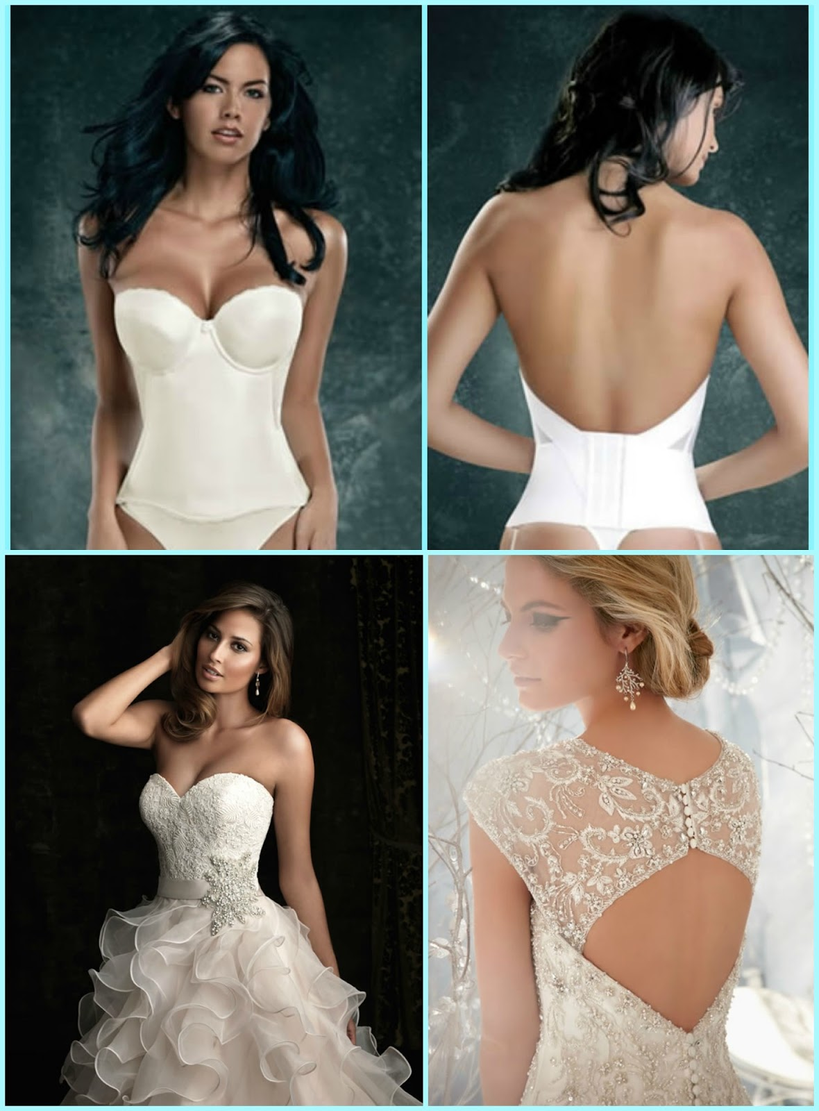 21334bbc85 A wedding dress often requires a very specialized bra. Many women have  trouble finding the right one. We used to hear complaints like