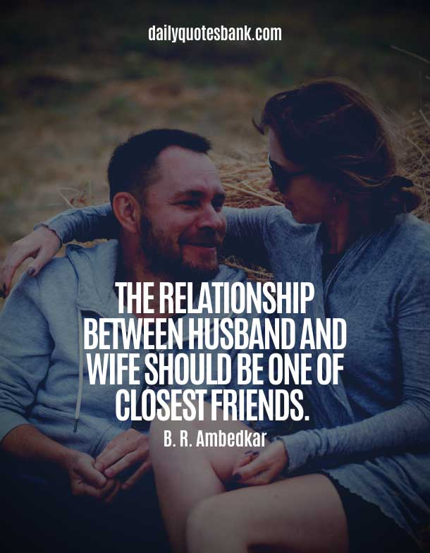 Husband and Wife Goals Quotes