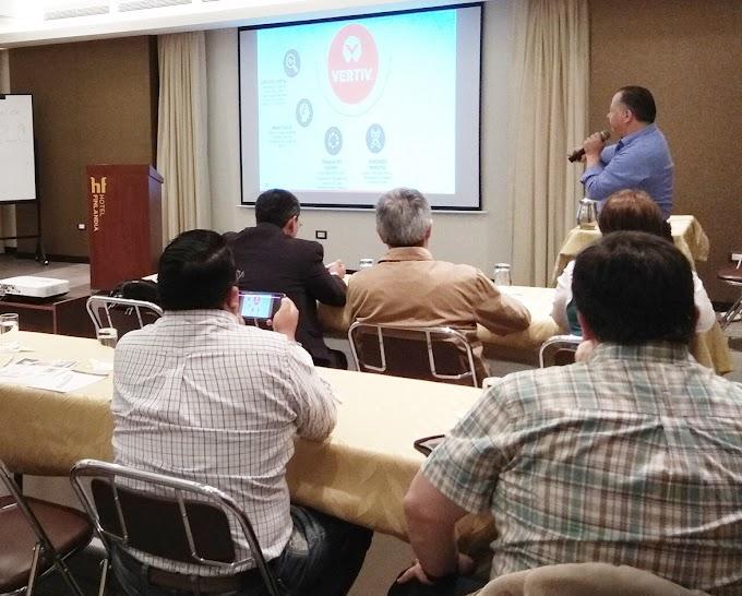 Vertiv realizó entrenamiento para sus socios en Ecuador