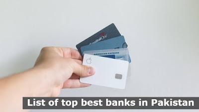 List of top best banks in Pakistan 2021