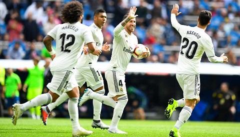 Real Madrid gần như áp đảo về các giải thưởng nhận được.