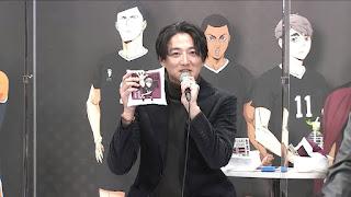 "Hellominju.com : ハイキュー!! TO THE TOP ジャンプフェスタ2021   株元英彰   Haikyū!! Jump Festa""   Hello Anime !"