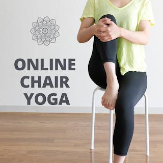 Online Chair Yoga Begins Thursday 4-2-20