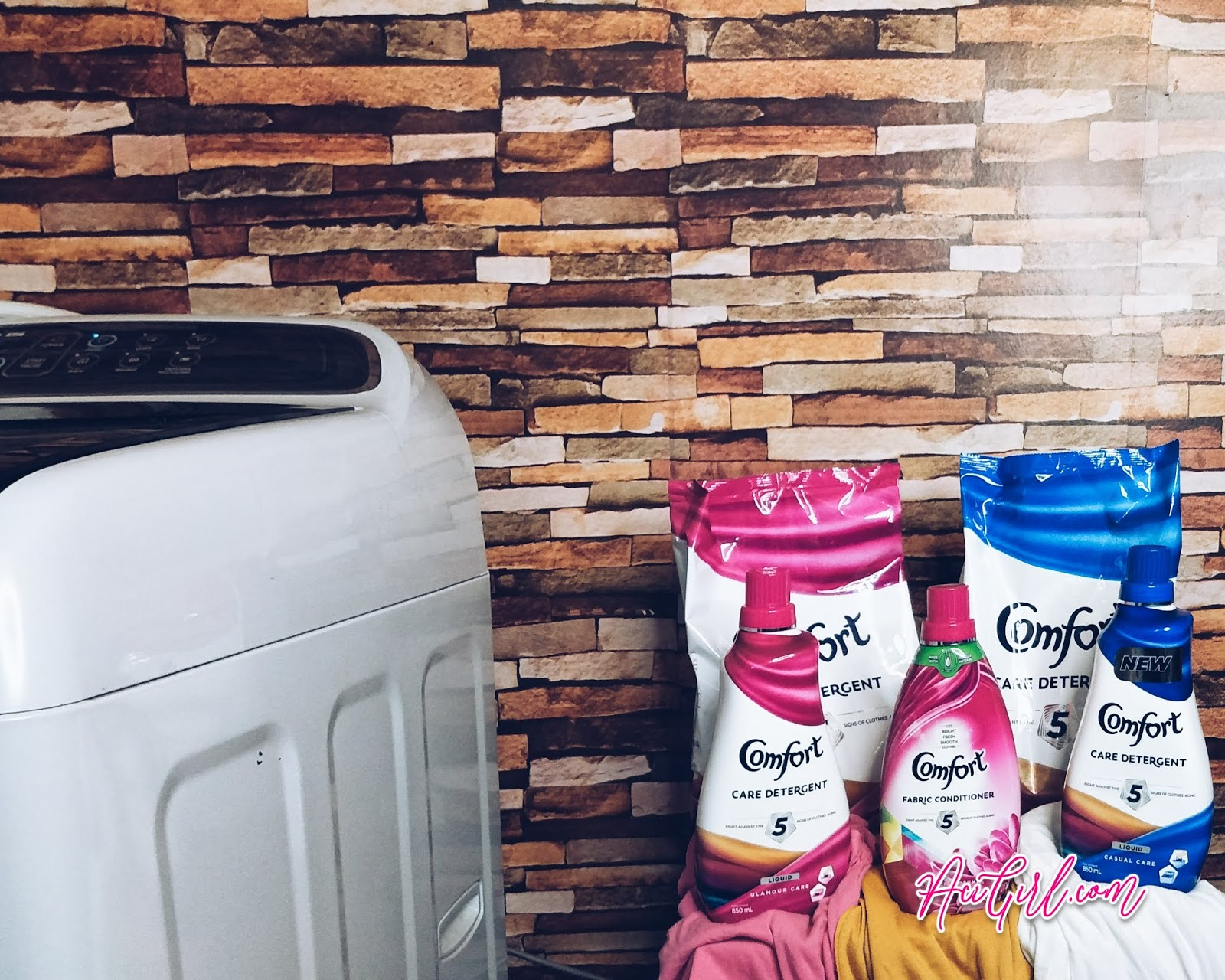 Comfort Care Detergent & Comfort Fabric Conditioner
