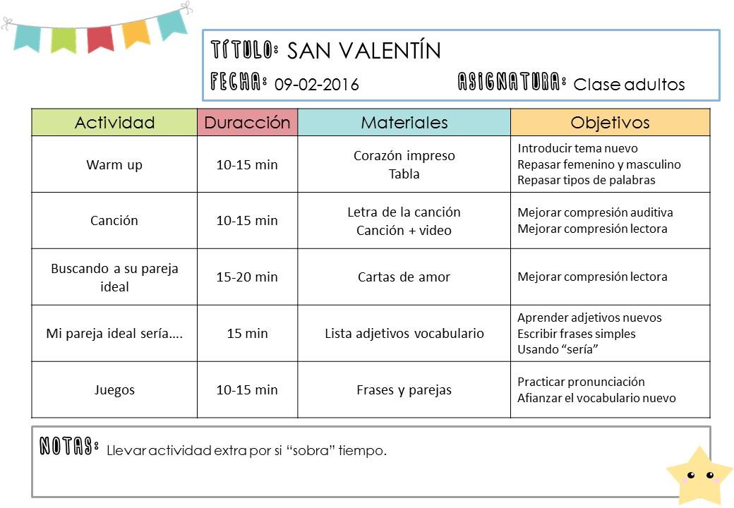 San Valentín en la clase de idiomas. Ideas y descargables. - El ...