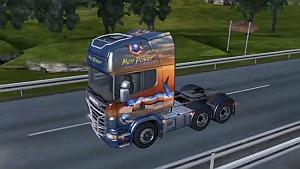Scania Men Power skin + interior (1.4.x)