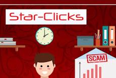 تحذير موقع نصاب محتال star-clicks.com موقع الاحتيال scam