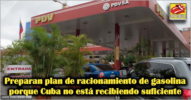 Preparan plan de racionamiento de gasolina porque Cuba no está recibiendo suficiente
