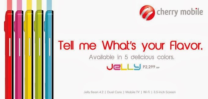 Cherry Mobile Jelly Dual-Core Smartphone Announced