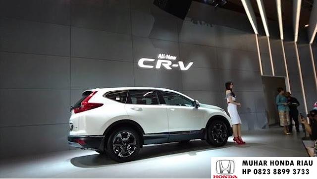 Harga Honda CR-V Turbo 2017 Pekanbaru Riau