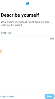 How to write your bioHow to create twitter account easily by Android খুব সহজেই ফোন দিয়ে কিভাবে টুইটার একাউন্ট খুলবেন। Tutorial bangla