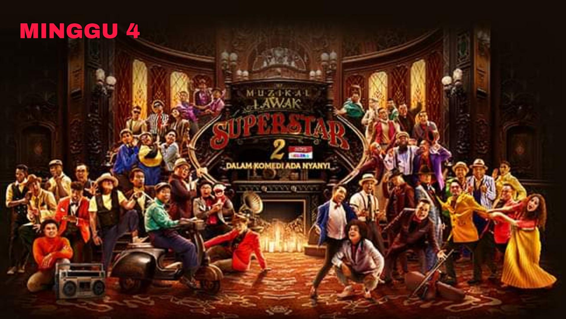 Live Streaming Muzikal Lawak Superstar 2020 Minggu 4 (Siaran Langsung)