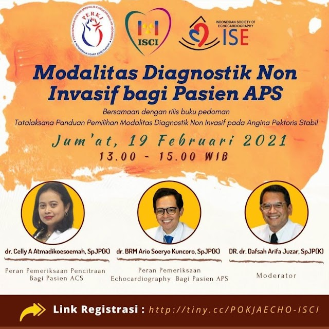 Free Webinar Modalitas Diagnostik Non Invasif bagi Pasien APS
