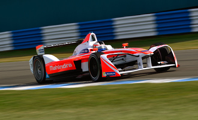 Mahindra Racing Formula E car