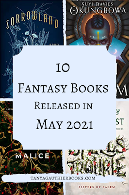 10 Fantasy Books Released in May 2021