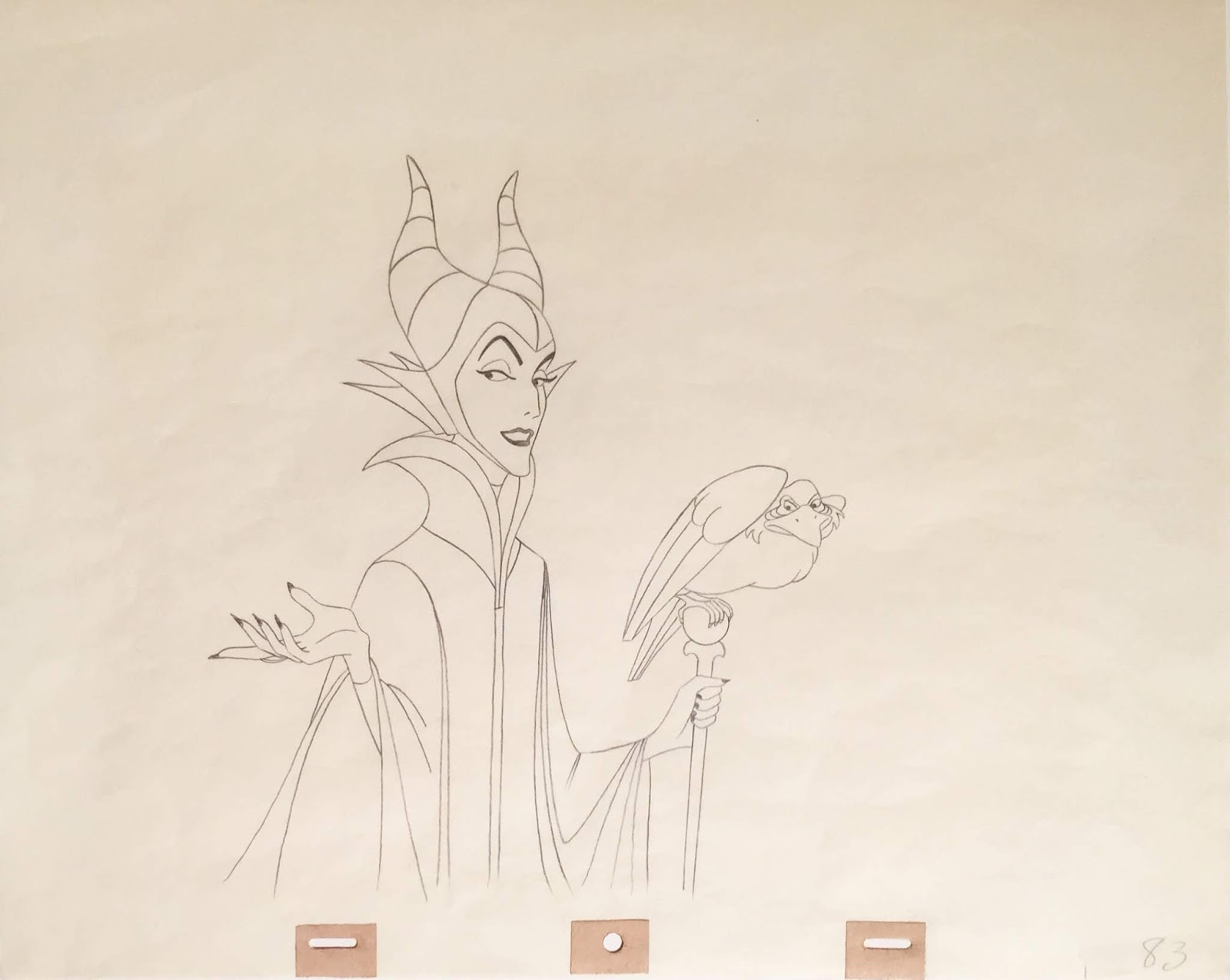 Animation Collection: Original Production Animation Drawing