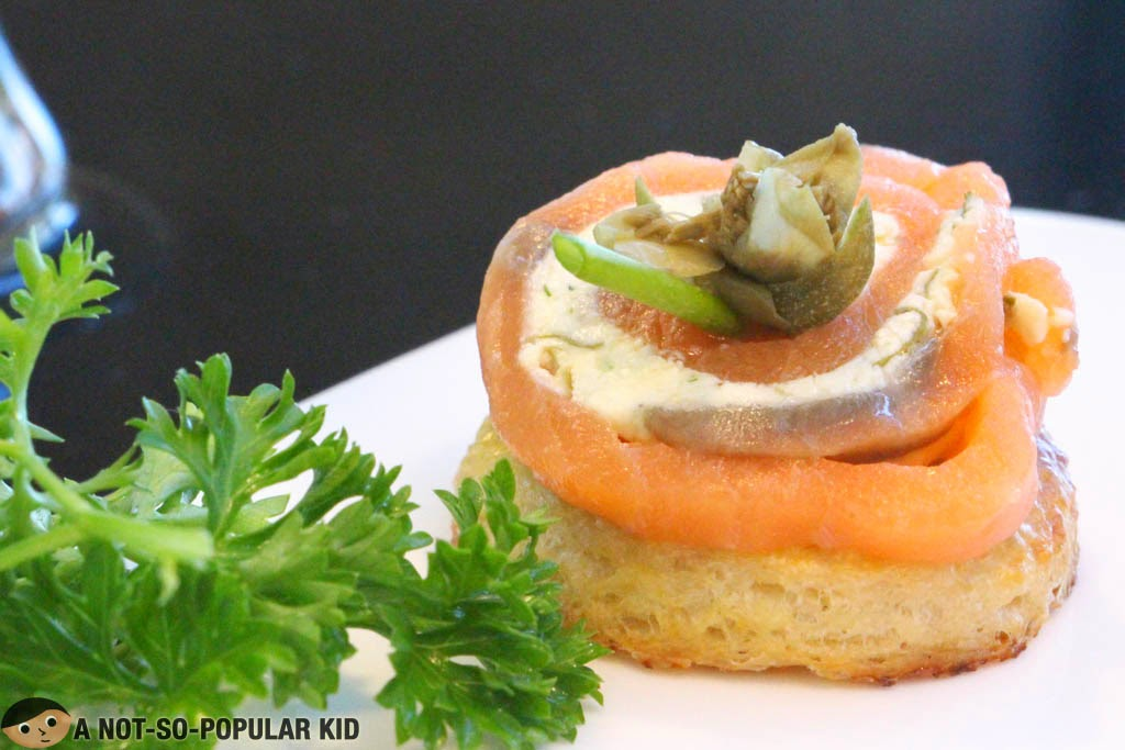 Vikings' Pinwheel Alaskan Homemade Smoked Salmon with Cream Cheese Filling