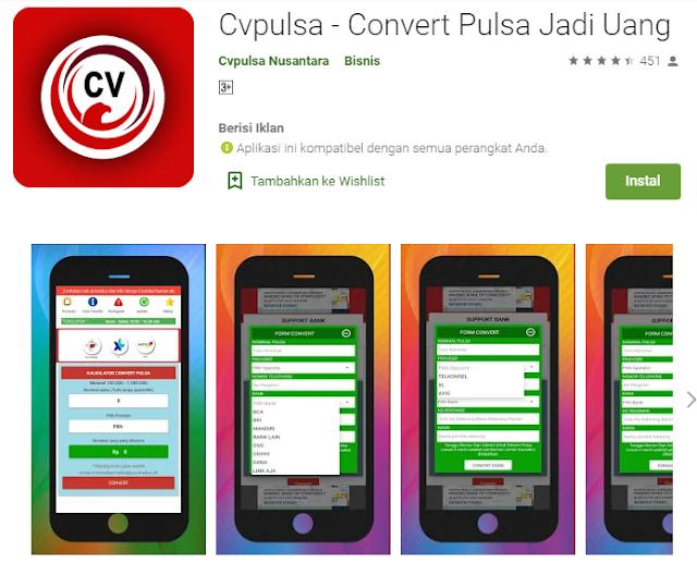 Cvpulsa - Convert Pulsa Jadi Uang