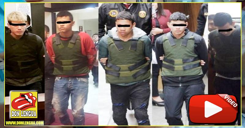 4 miembros del tren de Aragua condenados a muchos años de cárcel en Perú