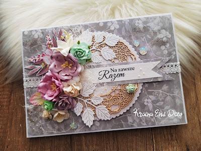 Ślubna kartka dla Nowożeńców