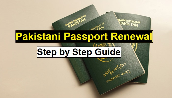 Pakistani passport renewal in Dubai