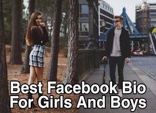 500+ Best Facebook Bio For Girls And Boys