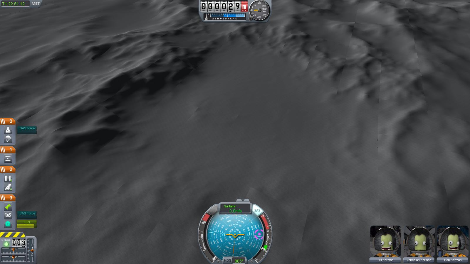 Flawless Mun Landing On Perfectly Flat Area | Kerbal Space