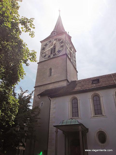 O maior relógio da Europa fica em Zurique